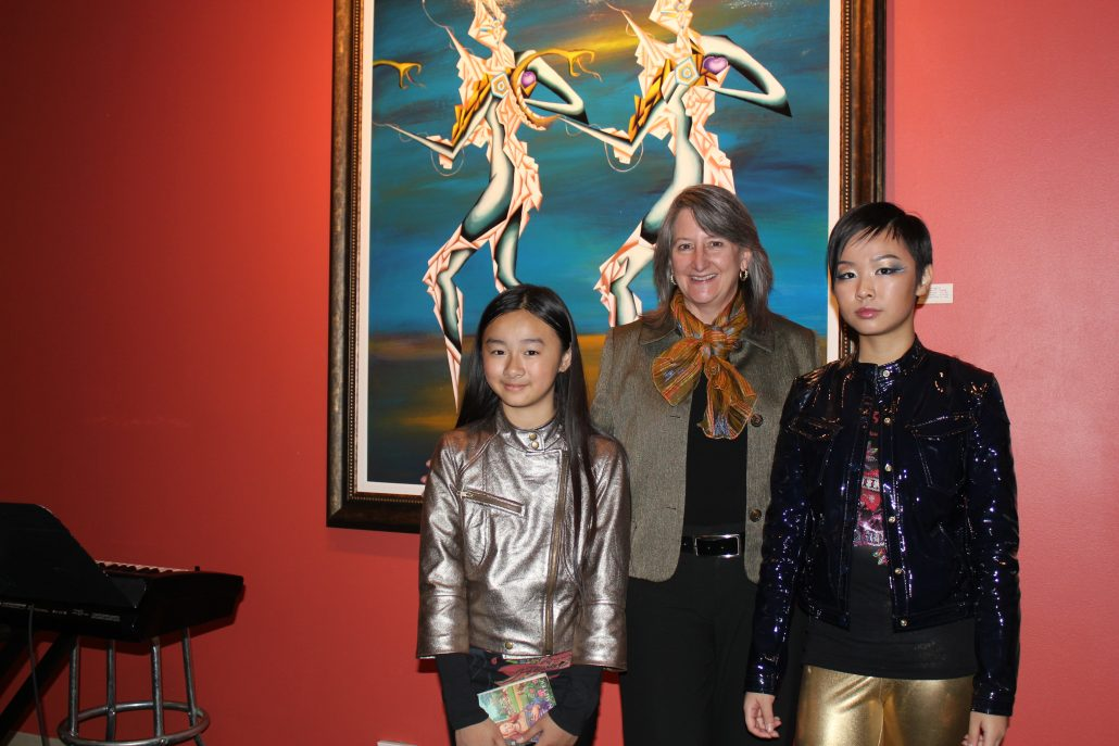 Victoria Yin with the president of The Beck Center for the Arts, Ohio 2010